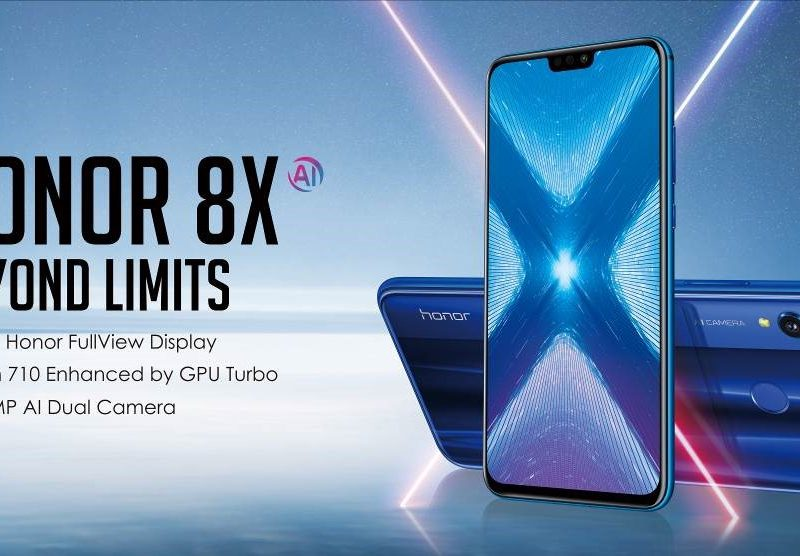 Honor Reveals Best in Class Smartphone With Launch of Honor 8X