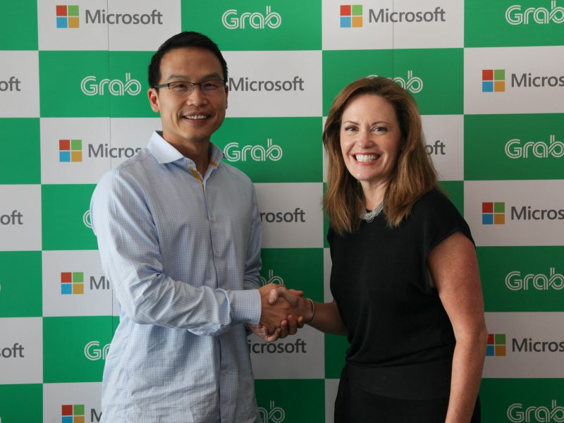 Grab Forges Strategic Cloud Partnership with Microsoft