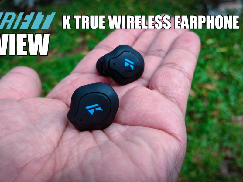 K True Wireless Earphone is Your In-Ear Personal Trainer
