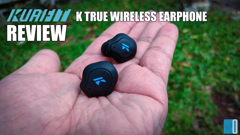 K True Wireless Earphone is Your In-Ear Personal Trainer