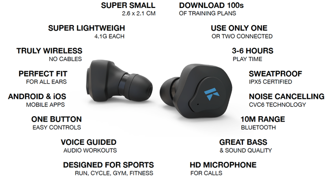 K True Wireless Earphone