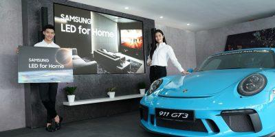 Porsche Experience and Samsung