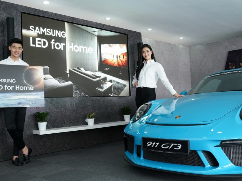 Samsung to Elevate Consumer Interest with Porsche Experience