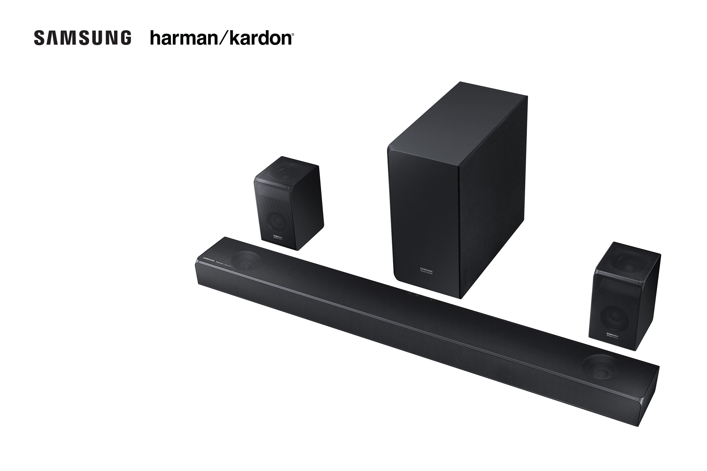 Samsung and Harman Kardon Soundbar