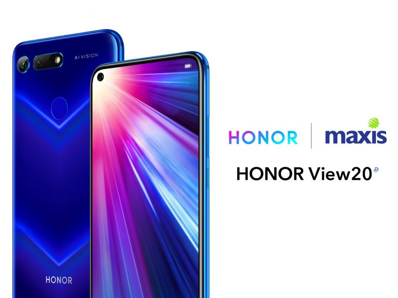 HONOR and Maxis Announces First Ever Collaboration to Welcome HONOR View20!