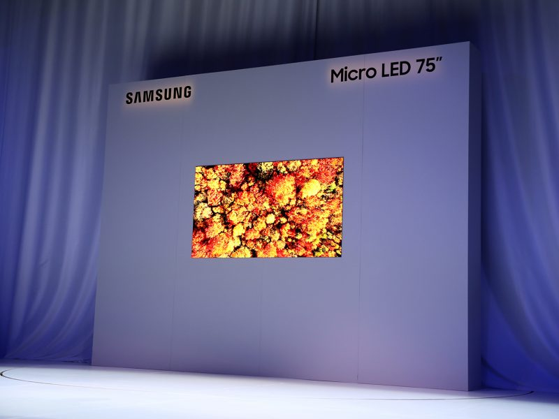 Samsung Unveils Groundbreaking Modular Micro LED Technology at CES