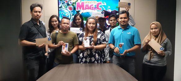 Mobile Game 'Monster Magic' Winners