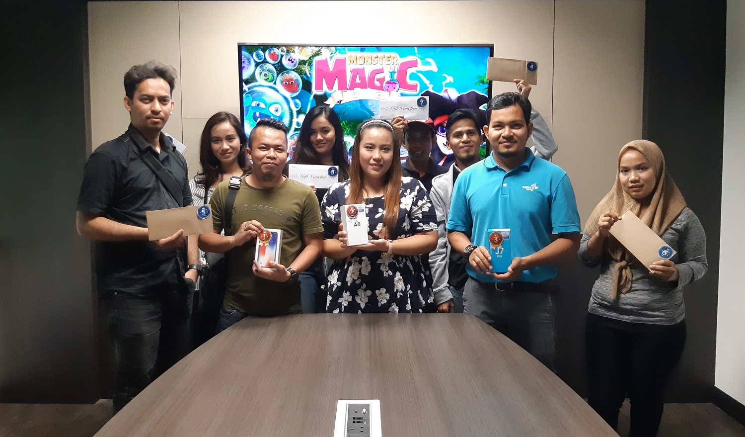 Gamelord Awards Mobile Game Monster Magic Winners with RM10,000 Worth of Prizes