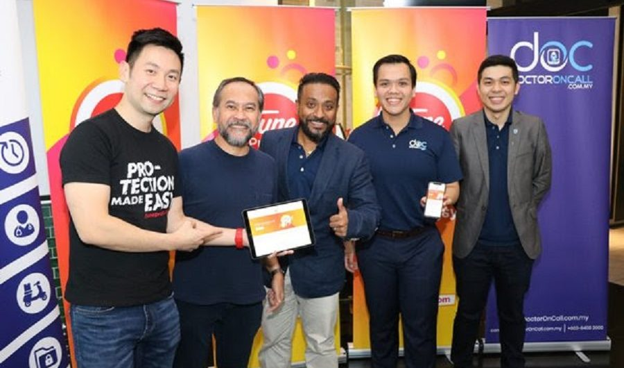DoctorOnCall collaborates with Tune Protect to launch AirAsia Tune Protect Travel Protection Policy