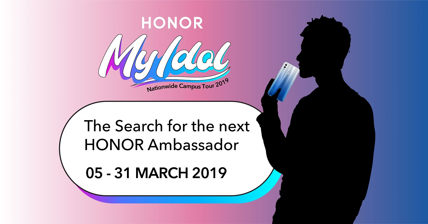Are You the Next HONOR My Idol 2019?