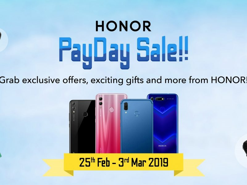 Treat Yourself with HONOR's Pay Day Sale