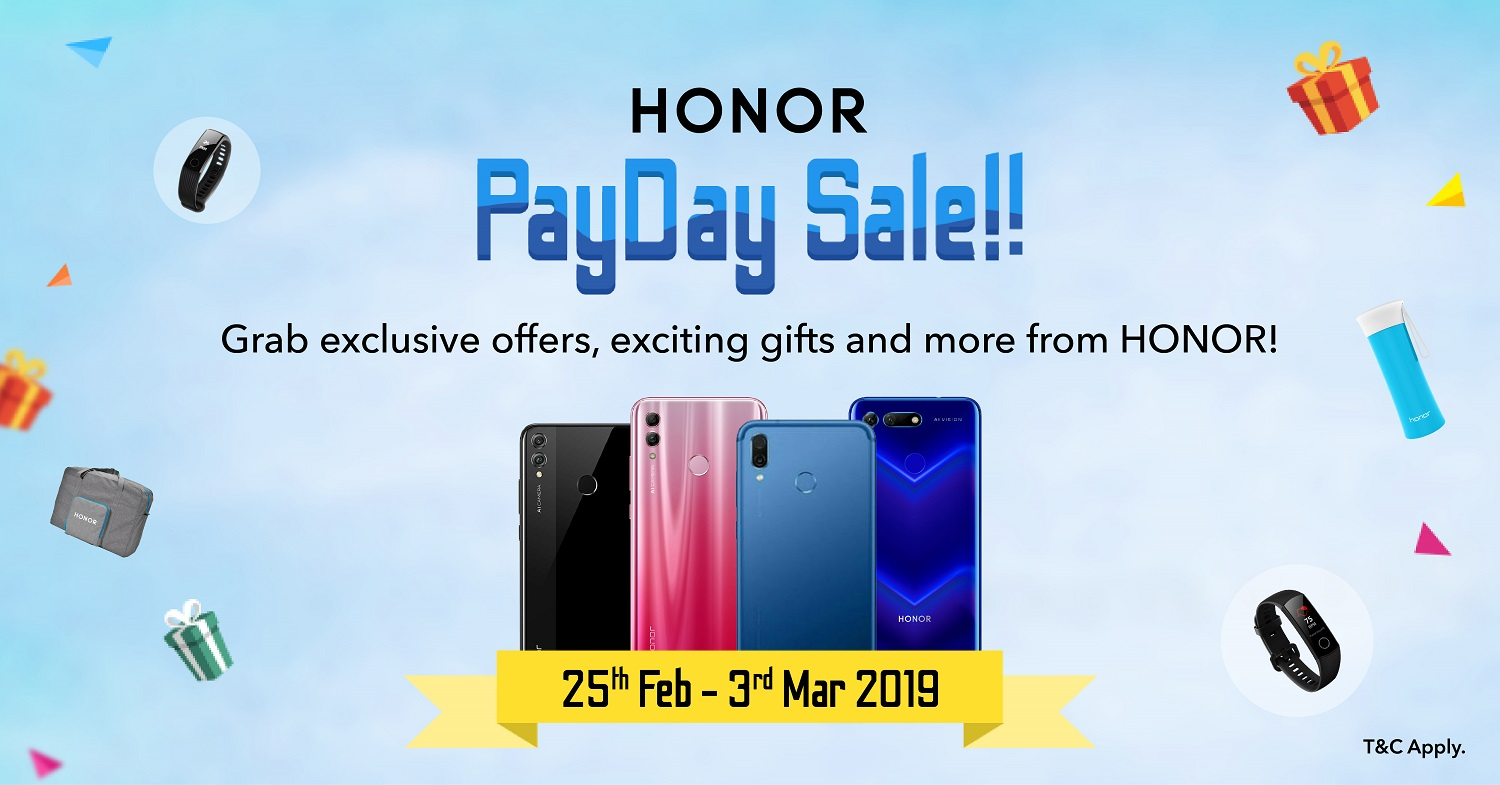 HONOR Pay Day Sale