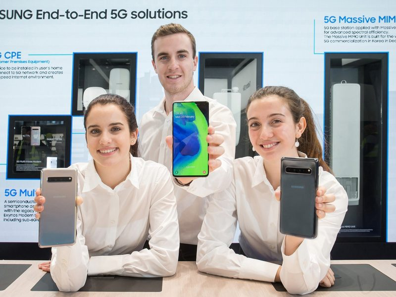 Samsung Showcases Industry-Defining End-to-End 5G Technology Solutions at MWC19