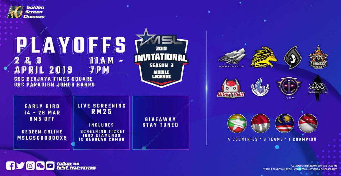 GSC to Host MSL Season 3 Playoffs