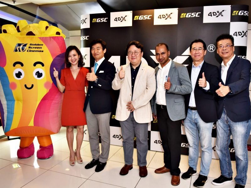 The Innovative Experience, 4DX Cinema Arrives In GSC IOI City Mall, Putrajaya!