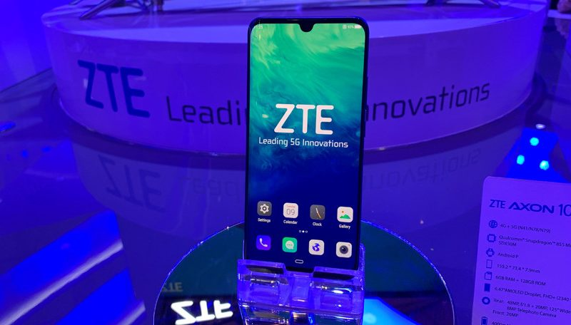 ZTE Announces the First 5G Flagship Smartphone at MWC 2019