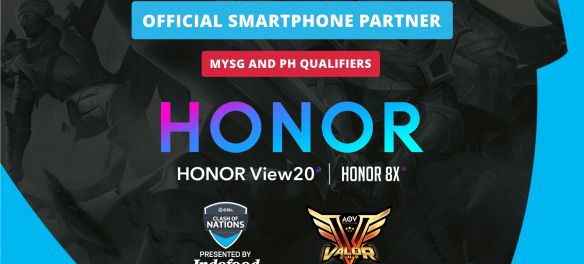 Honor is the official smartphone partner for the Malaysia/Singapore and Philippines ESL Qualifiers.