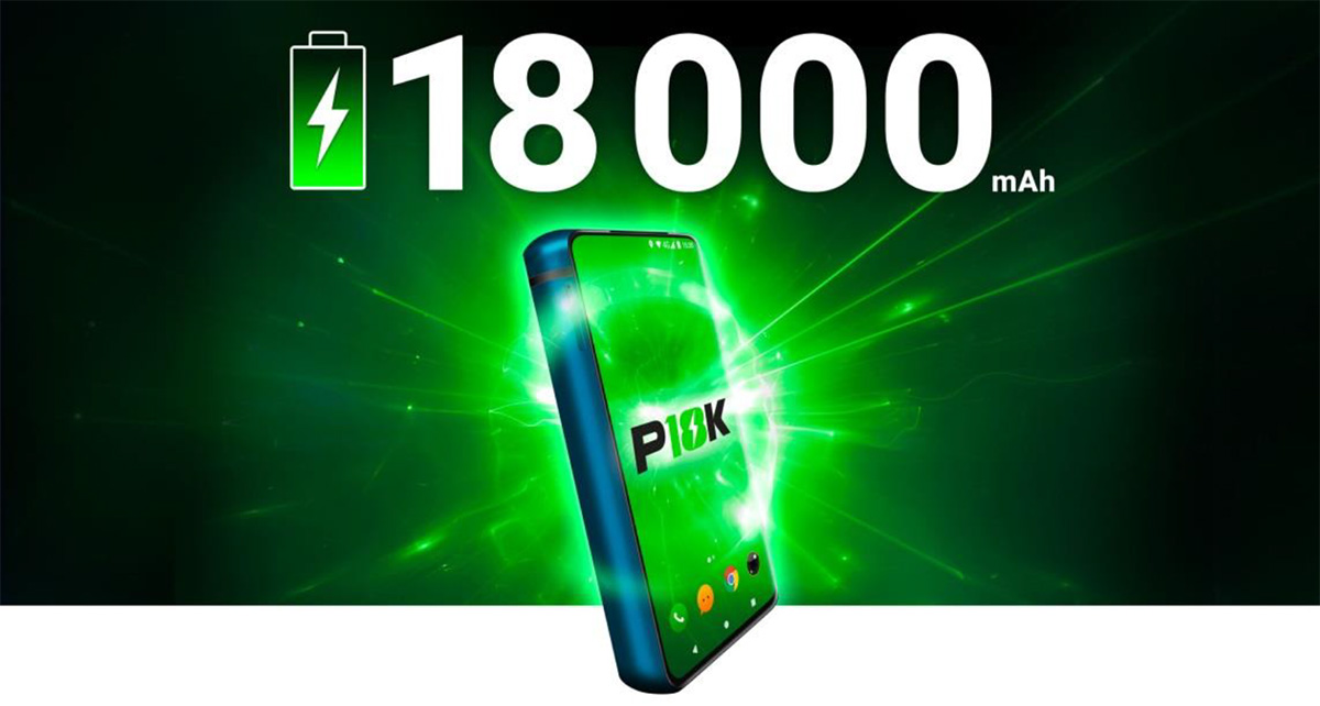 P18K: Smartphone with the Most Powerful Battery is Now Available on IndieGoGo
