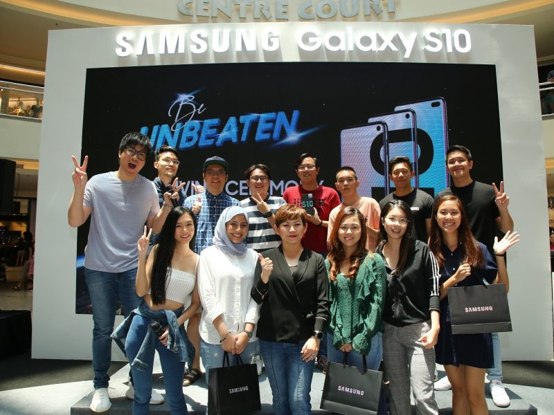 "Samsung's ""Be Unbeaten"" Campaign Rewards 10 Winners Each With A New Galaxy S10"
