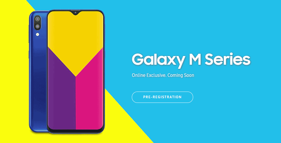 Samsung Galaxy M Series Is Coming But Exclusively Available Online