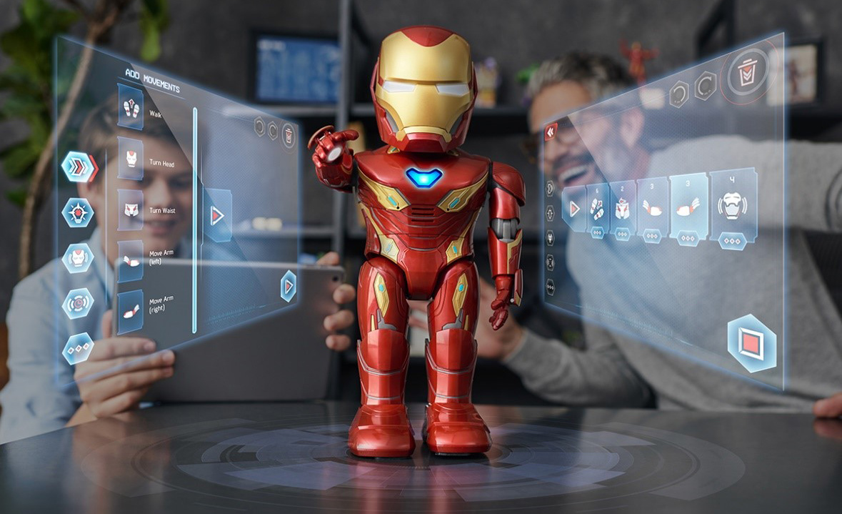 UBTECH, Marvel Team Up to Give You Power of Iron Man with MK50 Robot