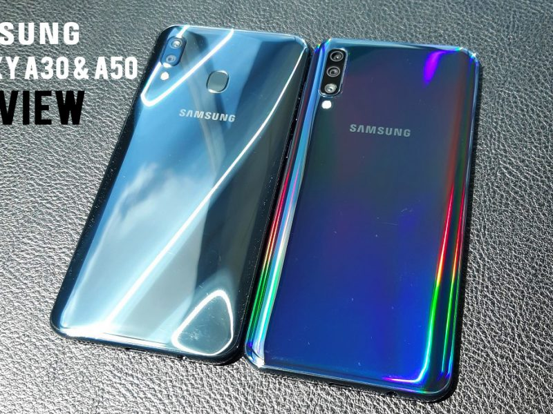 Galaxy A30 and A50  Preview – Identical Twins With Different Heartbeat