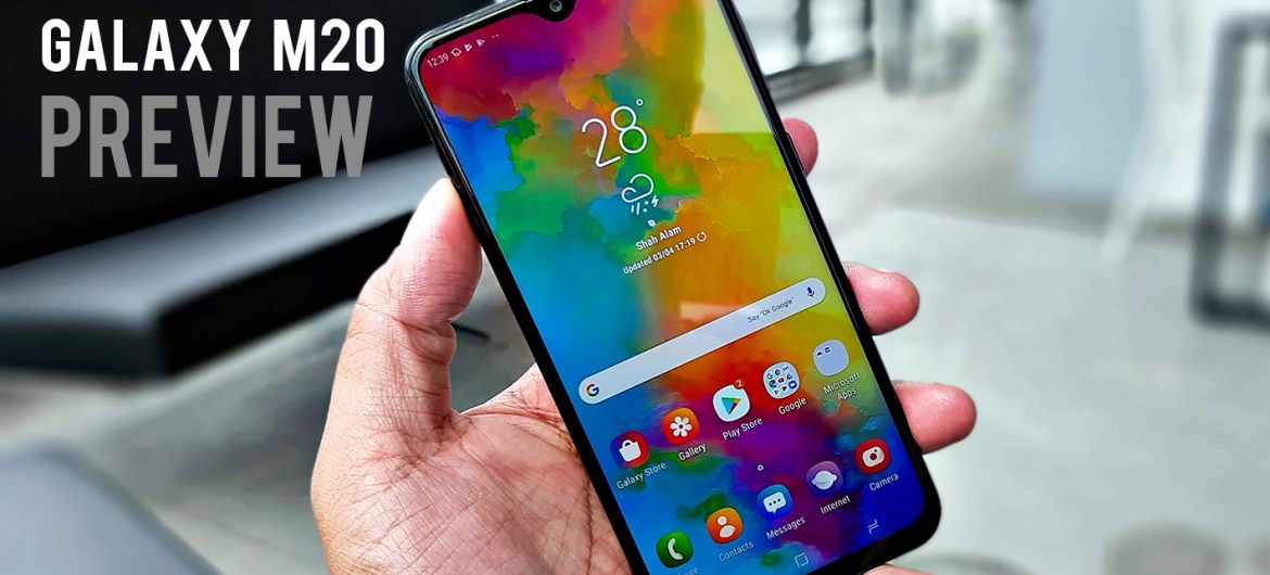 Samsung Galaxy M20 Preview