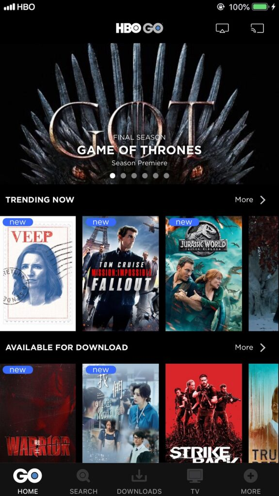 HBO Asia Streaming Platform HBO Go To Debut In Malaysia Via Astro