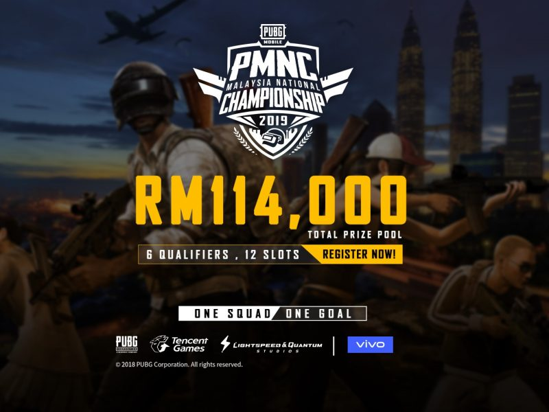 Vivo Announces Registration Details For PUBG Mobile Malaysia National Championship
