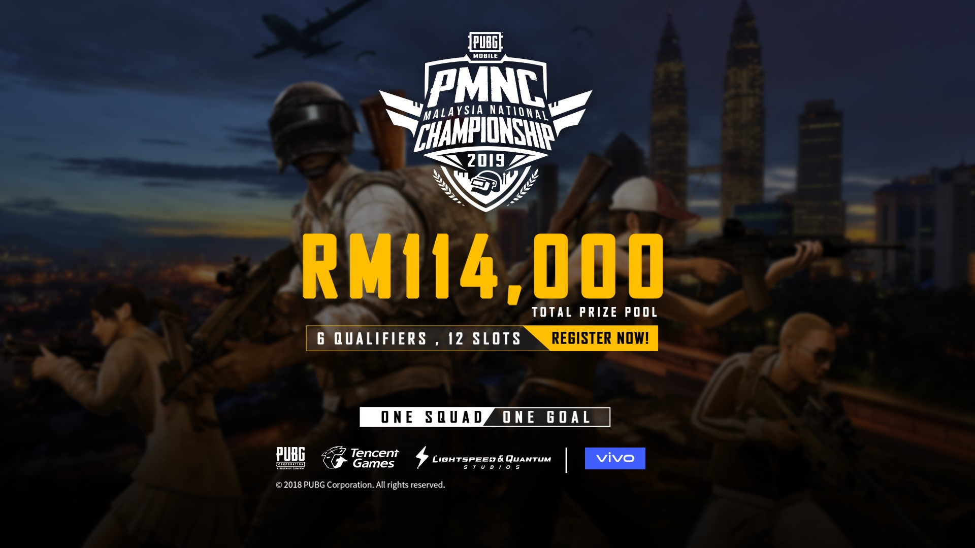 PUBG MOBILE Malaysia National Championship (PMNC)