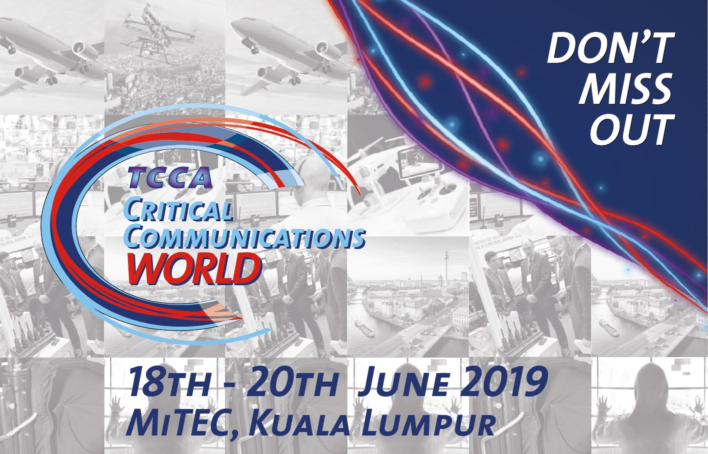 TCCA's 21st CCW Event Set to Bring the Critical Communications World Together in Kuala Lumpur