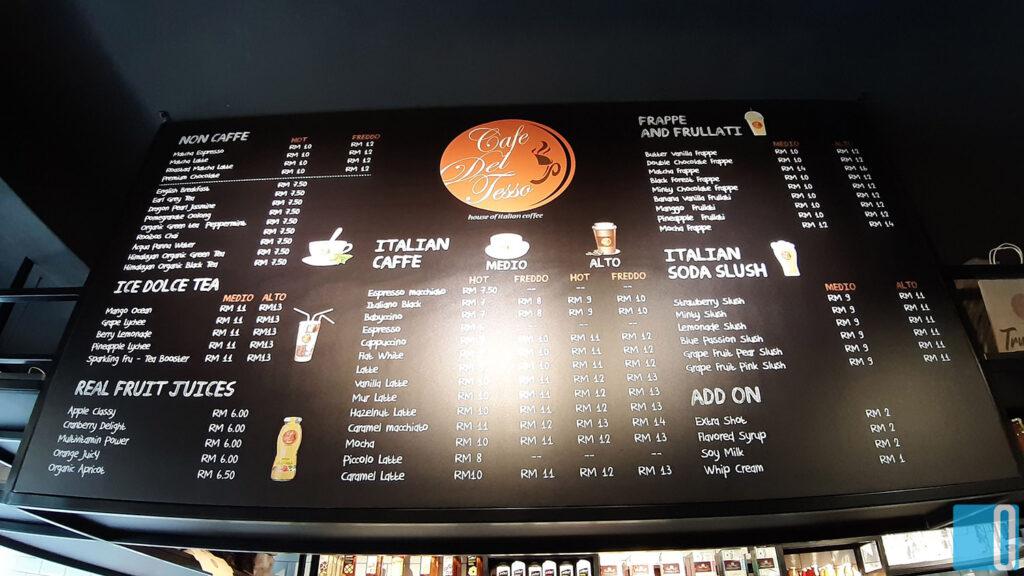 Cafe Del Tesso Review