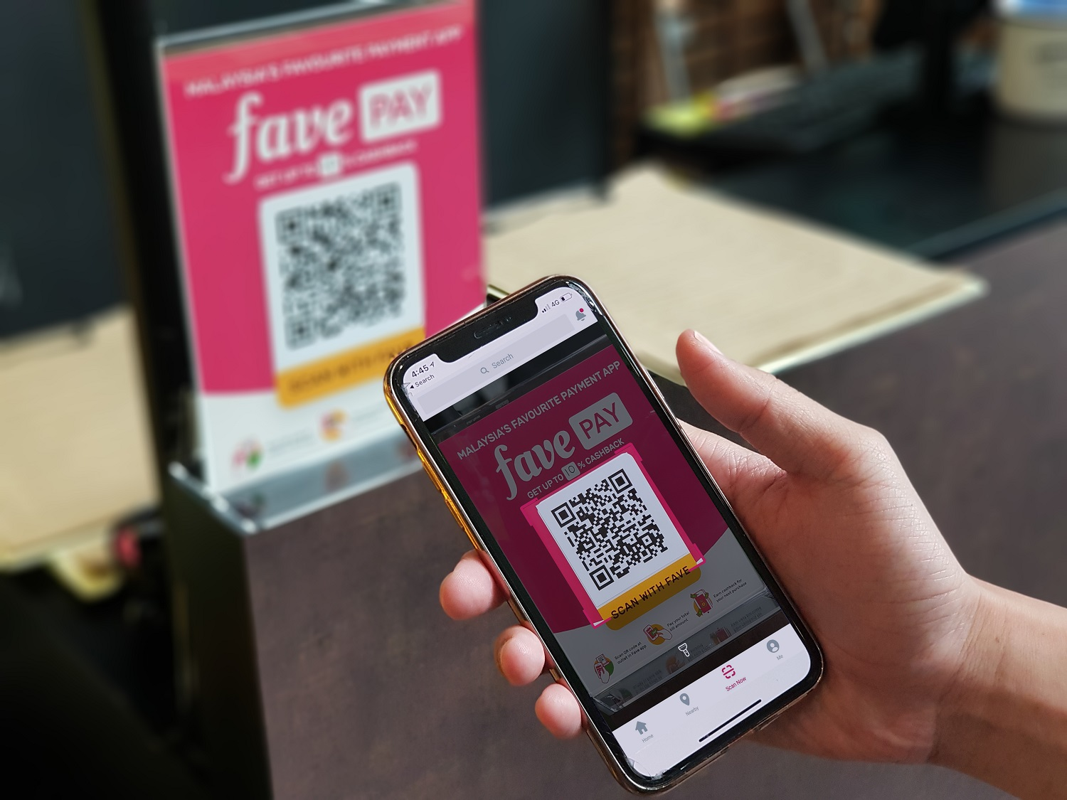 Fave Launches Mobile Table Ordering Service