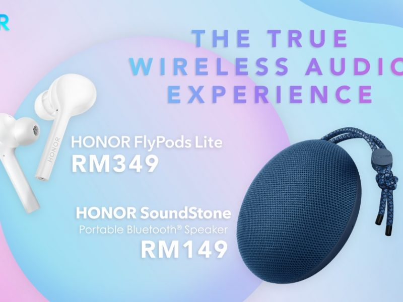 HONOR Introduces New Audio Accessories – Flypods and SoundStone