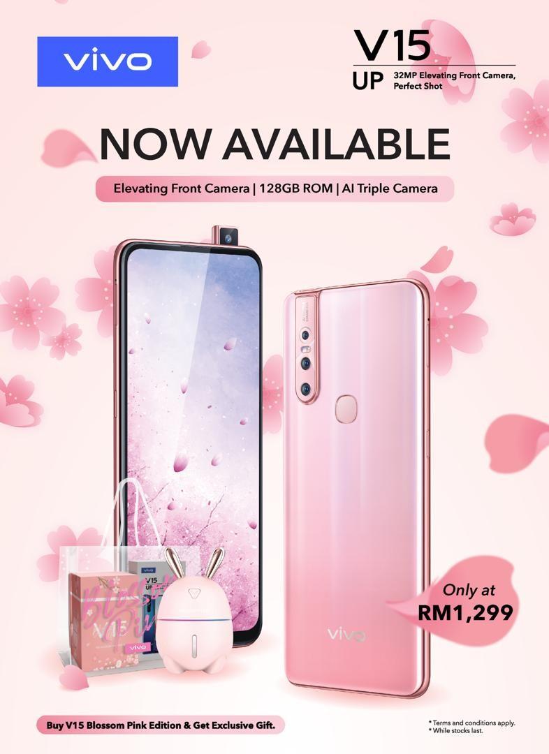 V15 Blossom Pink