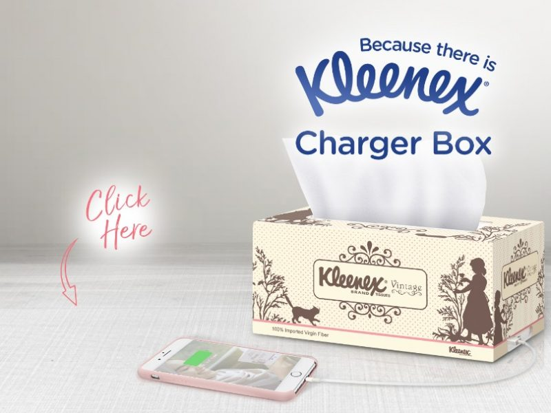 Grab a Kleenex Charger Box to Stay Connected This Hari Raya