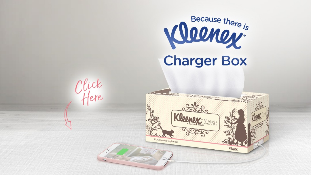 Kleenex Charger Box
