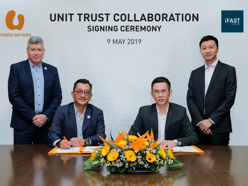 U Mobile Services Collaborates with iFAST Capital, First Telco To Offer Unit Trust