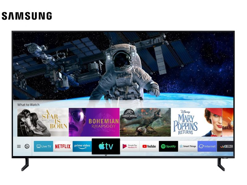 Samsung Smart TV First to Launch Apple TV and AirPlay 2 Compatibility