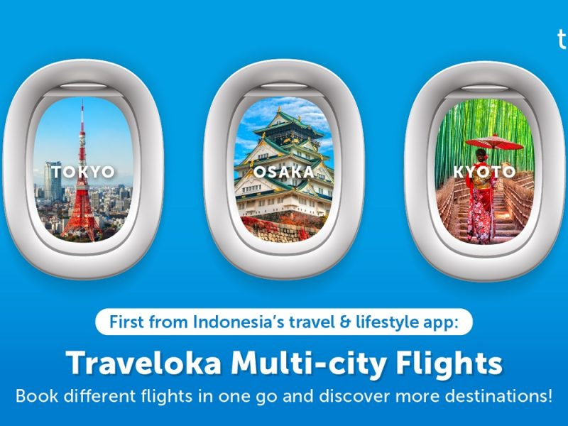 Discover More Destinations with Multi-city Flights Feature from Traveloka