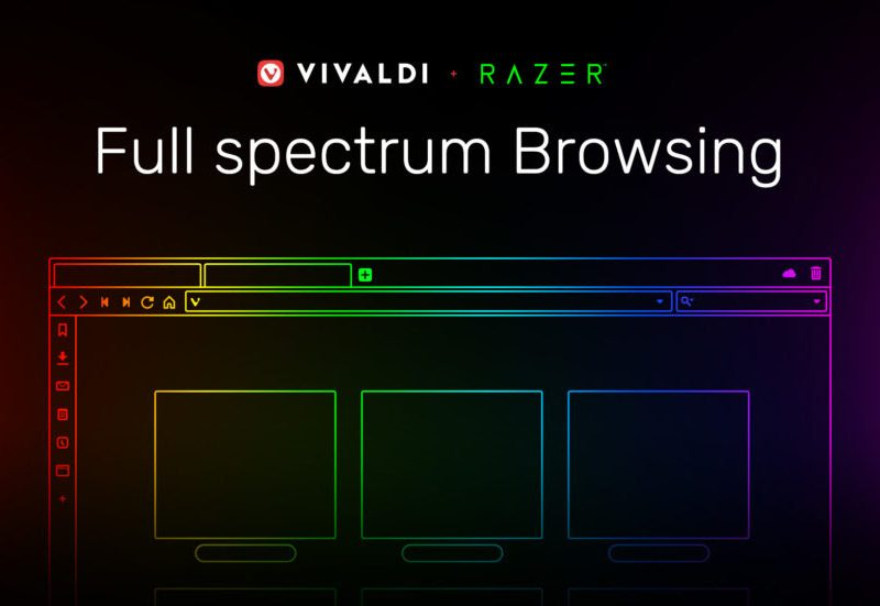 Vivaldi Enables Razer Chroma Lighting, First-of-its-Kind Integration