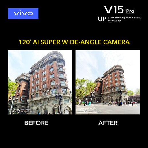 Vivo V15 Pro Wide Angle Camera