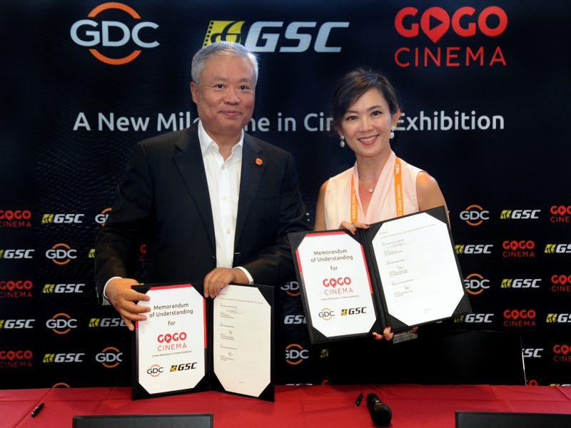 GSC Cinemas and GDC Technology Partner to Offer GoGoCinema