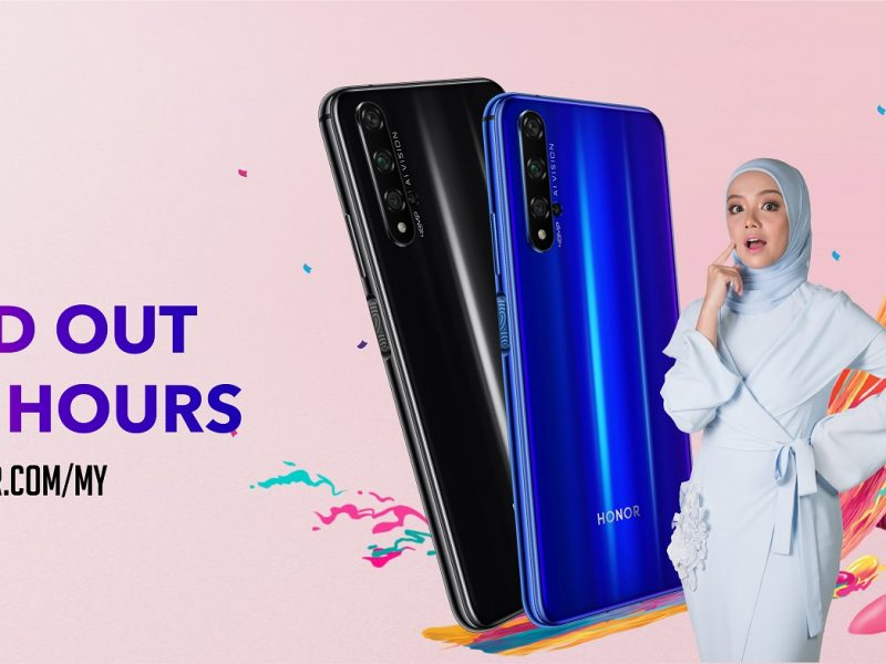 New HONOR 20 Sold Out Within Three hours on Official Website!