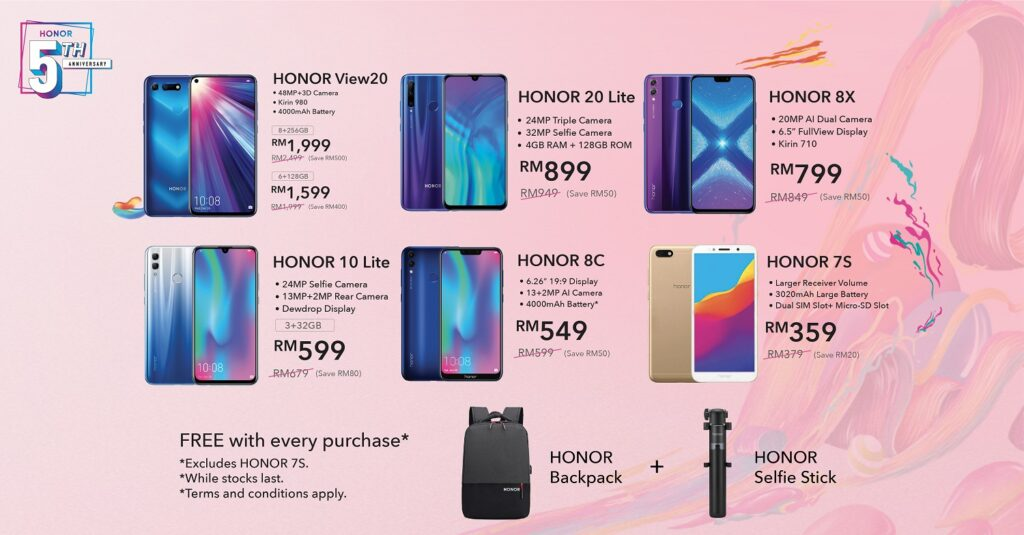 HONOR 5th Anniversary