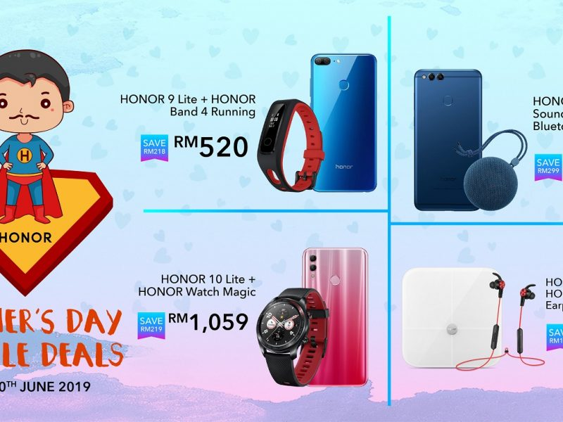 HONOR Your Dad with Great Deals this Father's Day