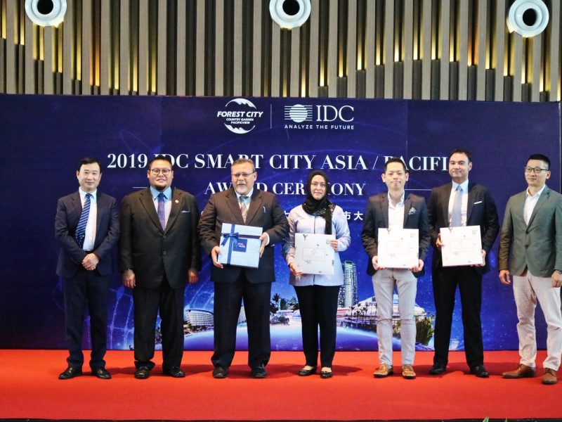 "Forest City ""Smart B.I.A"" System Wins IDC Smart City Asia Pacific Awards"