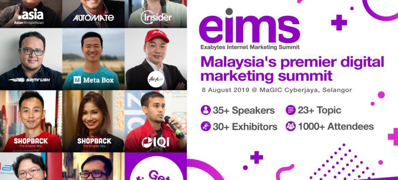 Exabytes Internet Marketing Summit 2019
