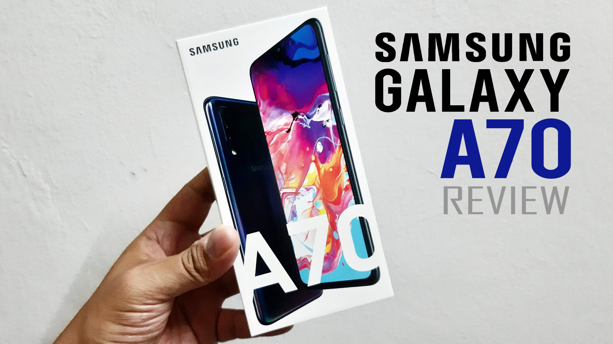 Samsung Galaxy A70 Review