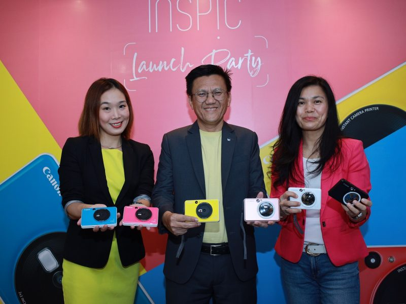 New Canon iNSPiC Instant Camera Printers Arrives in Malaysia